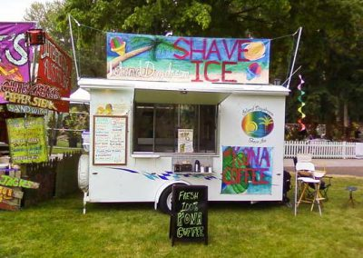 shave ice cart
