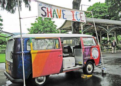 shave ice van