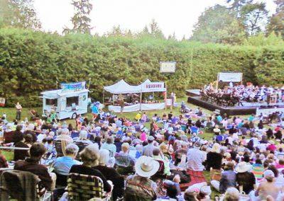 rose garden concert