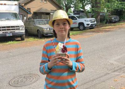 older boy with island daydream shave ice