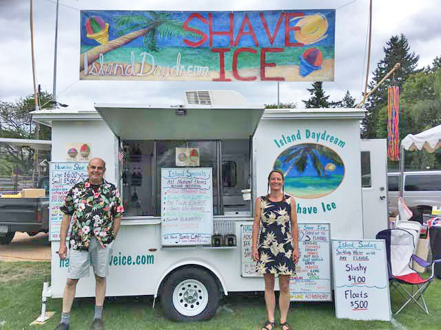 Island Daydream shave ice owners