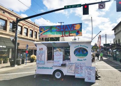 island daydream shave ice trailer at event